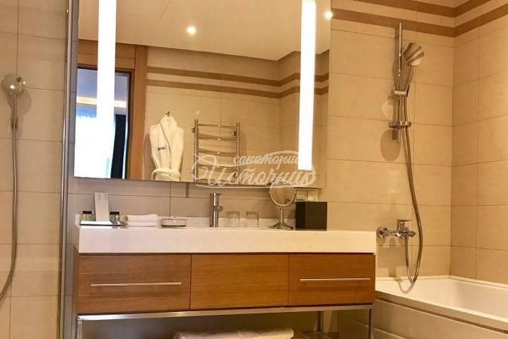 Апартамент - фото ванной комнаты